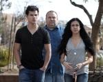 Taylor Lautner, Dan Lautner, Sara Hicks