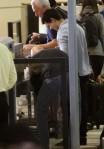 Lautner clears security kFKqlrgCfqVl
